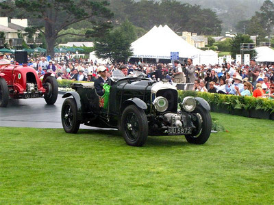 (f) Special presentation of all of the Bentley Team cars. This was the first time in history that all of the Works cars were assembled in one place.