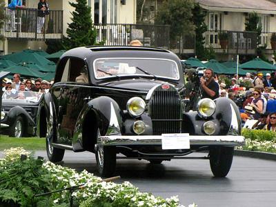 Class E-2: Bugatti Type 57 Special Coachwork 3rd - 1936 Bugatti Type 57 Paul Née Pillarless Coupé
