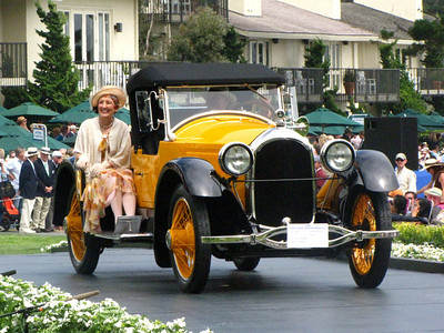 Class A, Antique and Vintage 2nd - 1921 Paige Model 6-66 Daytona Speedster Ansel Adams Trophy