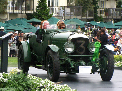 "Class F-3: Bentley Team & Race Cars 3rd - 1930 Bentley Speed Six ""Old Number 3"" Vanden Plas Tourer Briggs Cunningham Trophy"