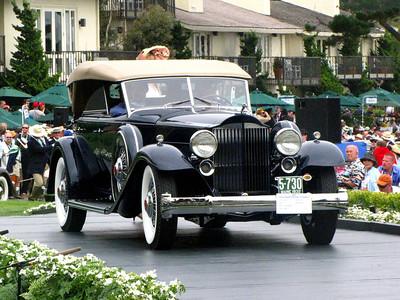 Class C-5: Packard Vee-Windshield Dietrich 3rd - 1932 Packard Twin Six 906 Dietrich Sport Phaeton