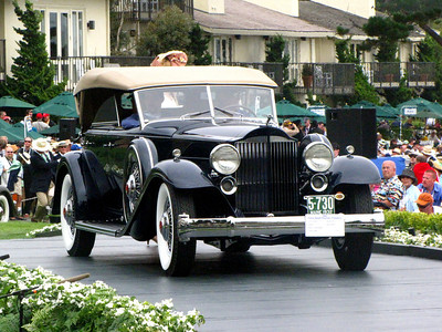 Class C-5: Packard Vee-Windshield Dietrich 3rd - 1932 Packard Twin Six 906 Dietrich Sport Phaeton