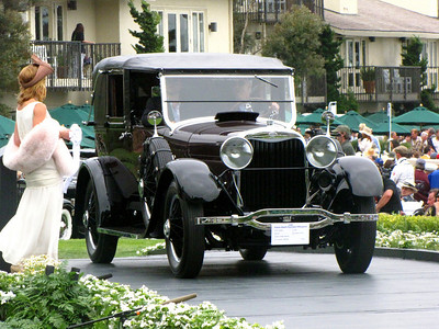Class C-4: American Classic Closed 3rd - 1926 Lincoln L 149A Dietrich Fully Collapsible Cabriolet