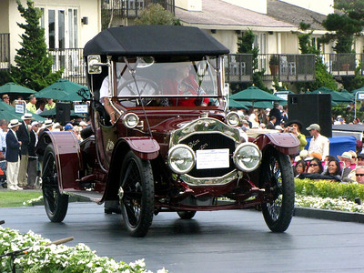 Class A, Antique and Vintage 1st - 1912 De Dion Bouton DM A.S. Flandrau Roadster Charles A. Chayne Trophy