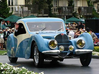 Class E-2: Bugatti Type 57 Special Coachwork 1st - 1937 Bugatti Type 57SC Atalante Coupé French Cup - 1937 Bugatti Type 57SC Atalante Coupé