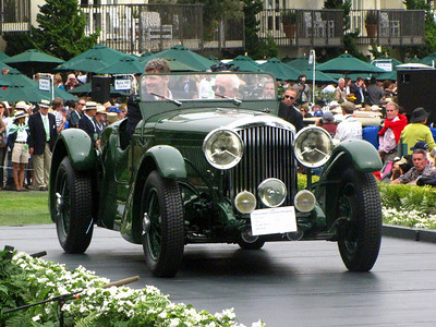 Class F-3: Bentley Team & Race Cars 1st - 1933 Bentley 4 1/4 Litre Offord Sports
