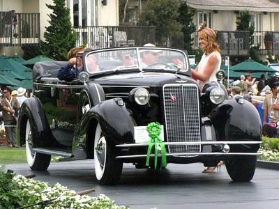Class C-2: American Classic Open 1933-1941 2nd - 1934 Cadillac 452D V-16 Fleetwood Convertible Sedan