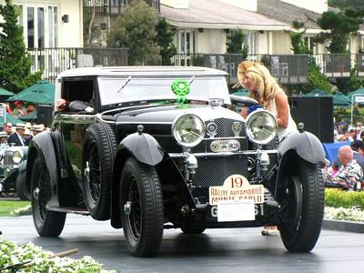 Class F-1: Vintage Bentley - 6 1/2 Litre Cars 1st - 1930 Bentley Speed Six Gurney Nutting Weymann Sportman's Coupé