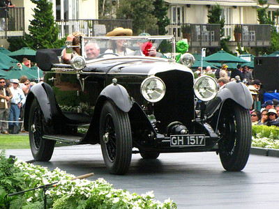 Class F-1: Vintage Bentley - 6 1/2 Litre Cars 3rd - 1929 Bentley Speed Six Vanden Plas Dual Cowl Tourer
