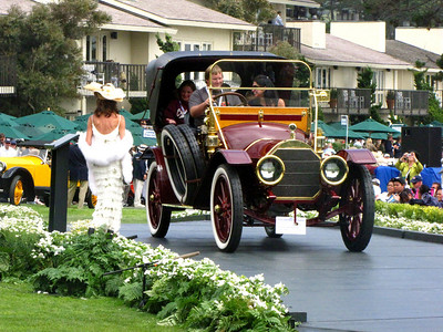 Class A, Antique and Vintage 3rd - 1911 Pierce-Arrow Model 36 Miniature Tonneau
