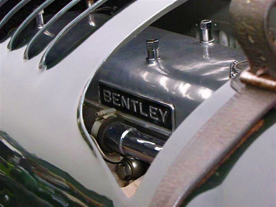 Bentley 4 1/2 Liter 'Blower Bentley, 'Old Number 9'.  No. 9 is one of the original Birkin Blowers (Birkin Blower No. 2) created to get more speed from the standard Bentley Speed Sixes. Bentley racing driver Tim Birkin fashioned a Roots supercharger to the front end for an additional 130hp boost at full throttle. Bentley Blowers never had much success but they were fast and fearful in the day and are highly coveted today. No. 9 carries the registration plate UU 5872 and competed in multiple pre-War grands prix, the 1930 Le Mans 24 Hour (DNF), and won the 1930 Tourist Trophy.