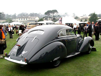 Alfa Romeo 6C 2300B Pescara Berlinetta with coachwork by Pinin Farina. This car won first in class at the 1937 Turin Concours d'Elegance.