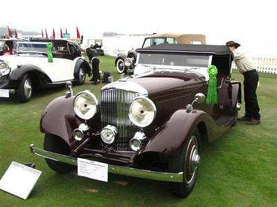 Bentley 3 1/2 Litre Thrupp & Maberly Vanden Plas Tourer