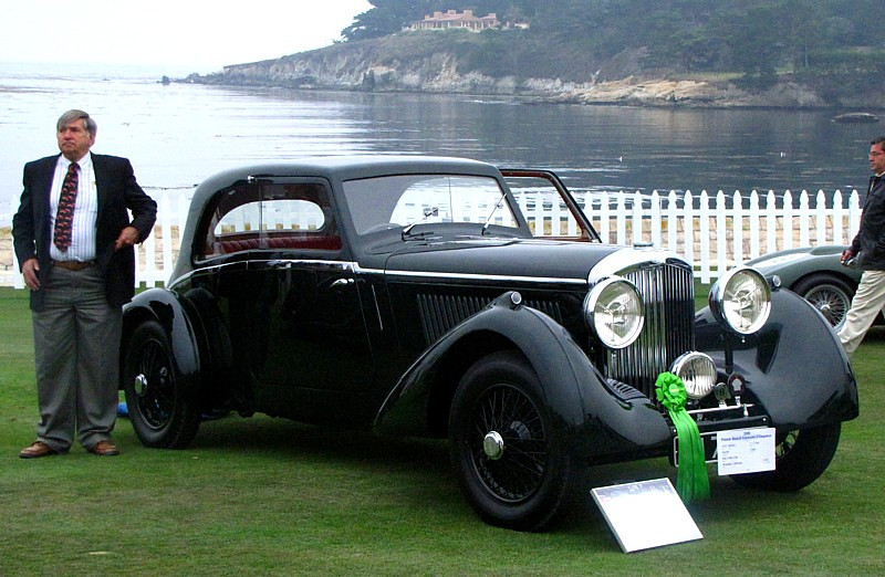 Bentley 3 1/2 Liter Bertelli Coupe