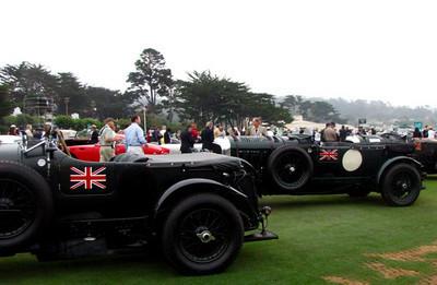 Bentley 4 1/2 Liter 'Blower Bentley, 'Old Number 8'.  No. 8 is one of the original Birkin Blowers (Birkin Blower No. 4).