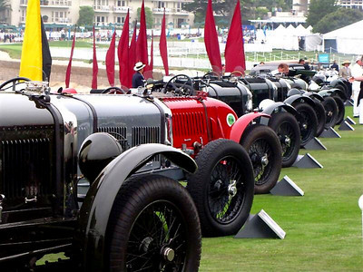 Pebble Beach Concours Field
