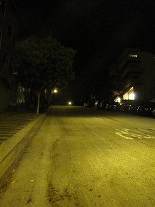 San Francisco, 22nd Street. One of the steepest streets in the world with a grade of 31%, or for every 100 feet the elevation drops 31 feet.