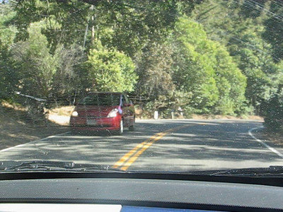 Rte 121, Napa County, California. One of the best driving roads I've ever been on. That road has never seen a PT Cruiser driven so fast!