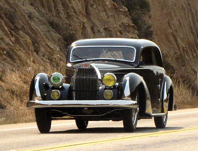 Bugatti Type 57 Paul Nee Pillarless Coupe