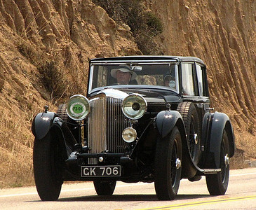 Bentley 8 Litre H.J. Mulliner Saloon