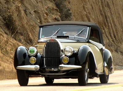 Bugatti Type 57 TT Bertelli cabriolet