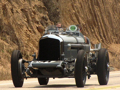 Bentley Speed Six Gurney Nuting Two Seater, Old Number 1