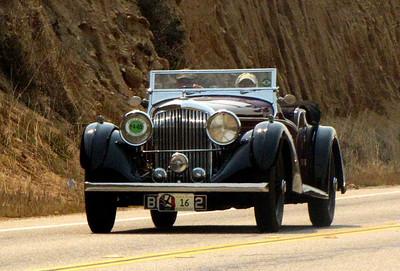 Bentley 4 1/4 Litre Vanden Plas Tourer