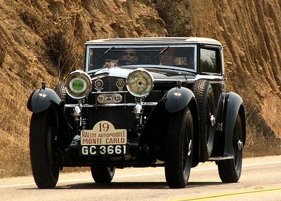 Bentley Speed Six Gurney Nutting Weymann Sportsman's Coupe
