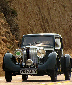 Bentley 3 1/2 Litre Bertelli Coupe