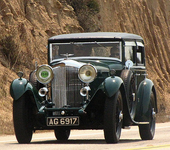 Bentley 8-Litre H.J. Mulliner Weymann Paneled Saloon