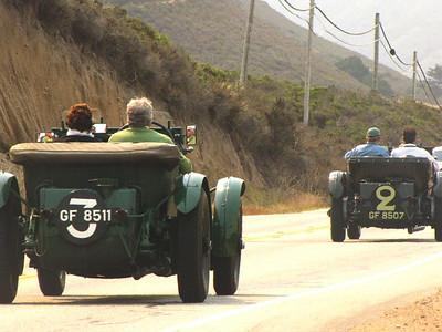 Bentley Speed Six Old Number 3 and Bentley Speed Six Old Number 2