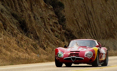 Alfa Romeo TZ2 Zagato competition berlinetta