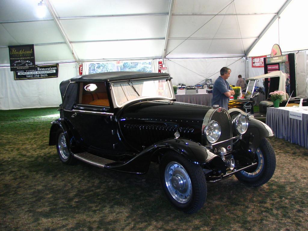 Bugatti Type 49 Pritchard & Demollin Cabriolet
