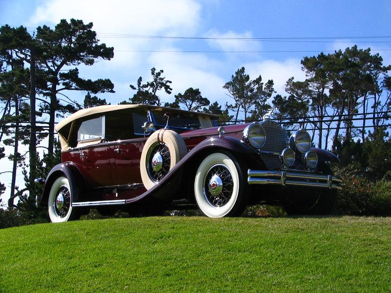 Packard Model 840 Deluxe Eight Phaeton