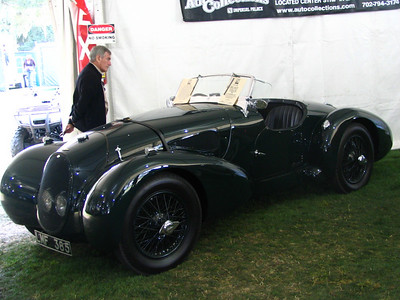 Aston Martin Type C Speed Model (1939).