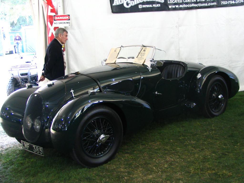 Aston Martin Type C Speed Model (1939).