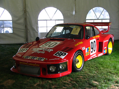 Porsche 935 RSR. Raced by Dick Barbour, Brian Redman, and John Paul to a class victory at Le Mans in 1978.