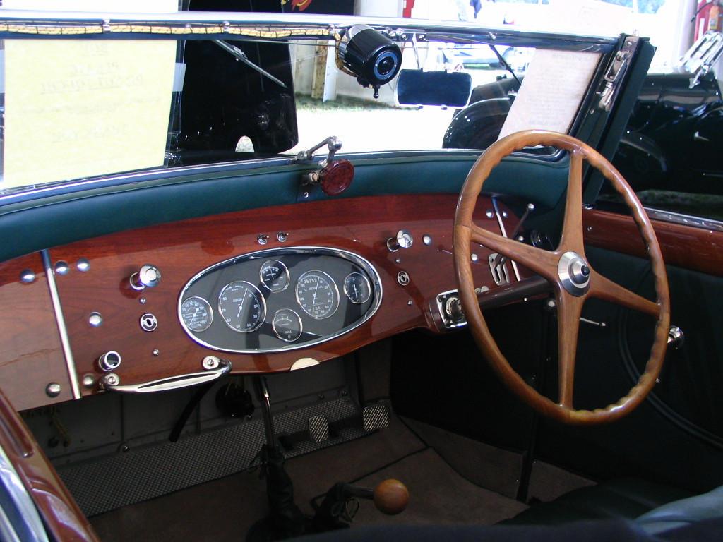Bugatti Type 50 Gangloff Convertible
