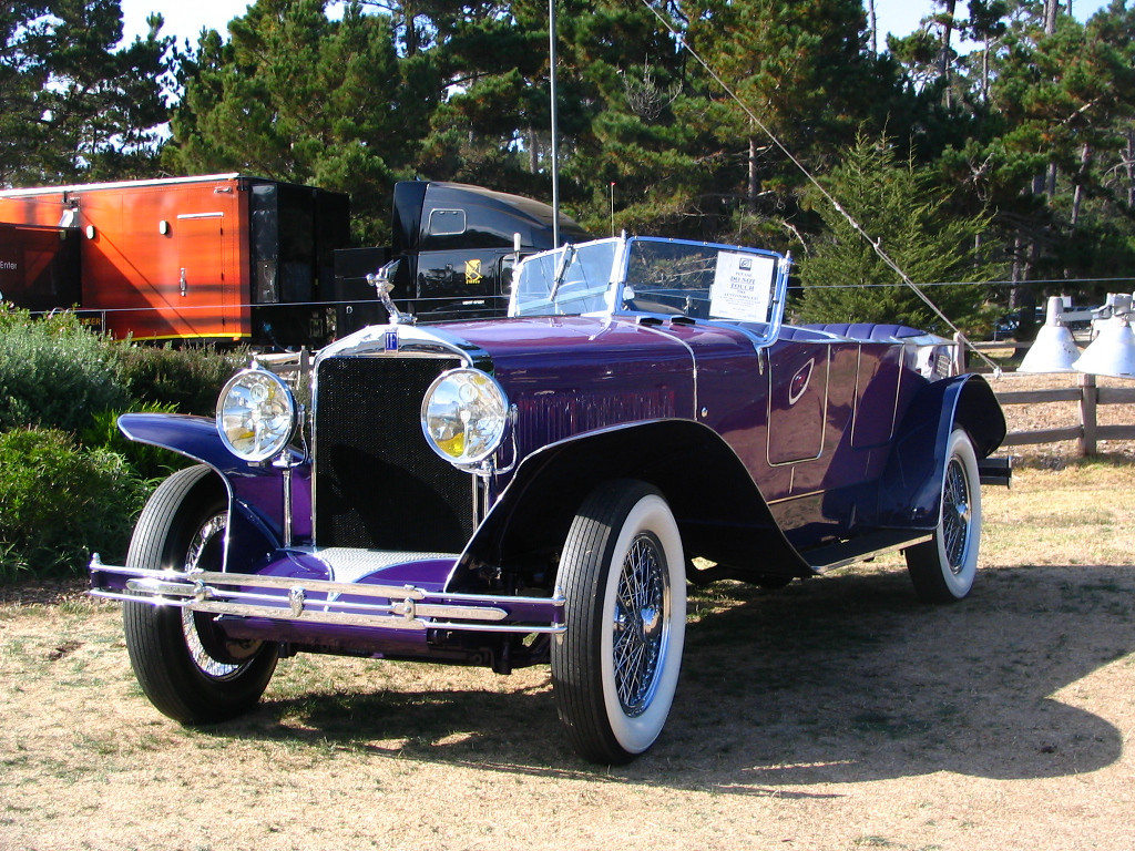 Isotta Fraschini Type 8A Sala Torpedo Phaeton. A pristine example that has been in museum display for almost 20 years.