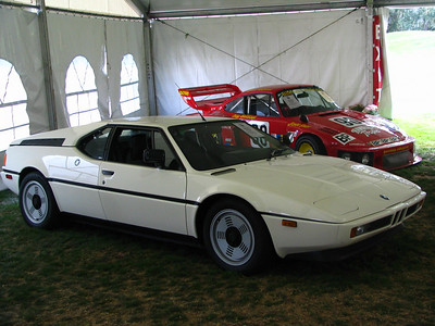 BMW M1. This is car #449 -- the sixth-to-last M1 built and completely original with less than 4000 miles on the odo.