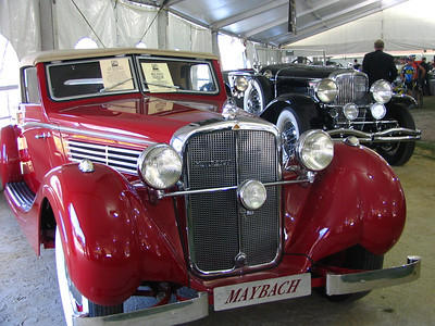 Maybach SW38Spohn Sport Roadster. This car won its class at Pebble Beach in 1997