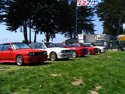 BMW E30 M3 line-up
