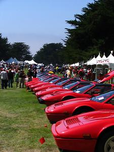 Ferrari V8 line-up