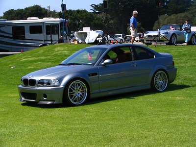 BMW E46 M3 with CSL parts