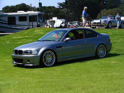 BMW E46 M3 with CSL parts
