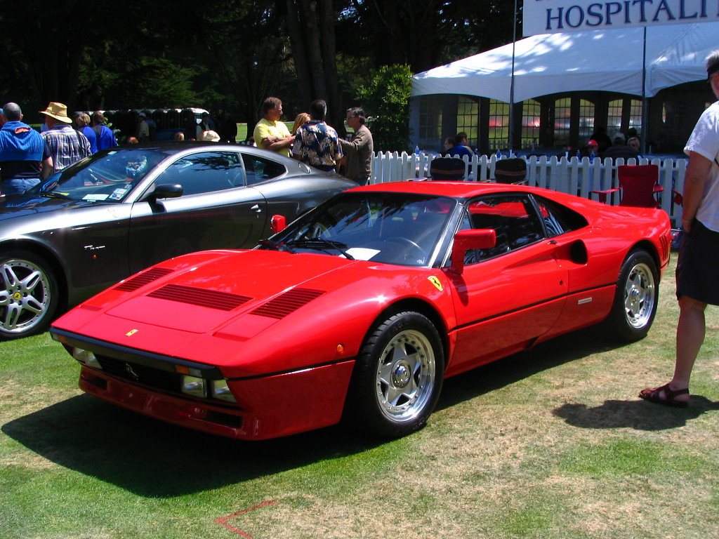 Ferrari 288GTO. This is the first 288GTO I have seen in person.