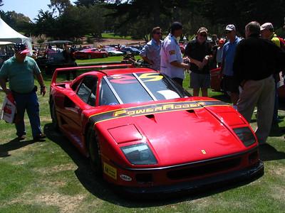 Ferrari F40, fresh from the Bonneville Salt Flats