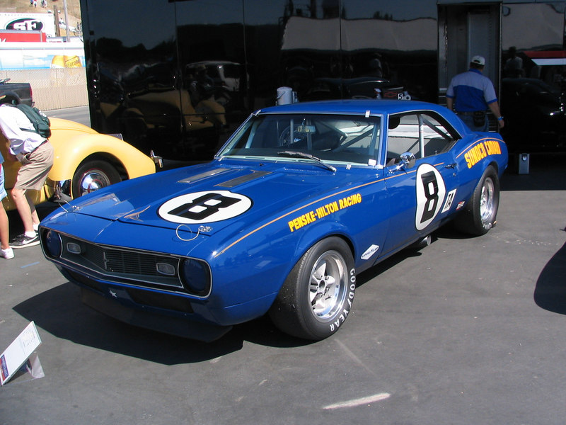 Chevrolet Camaro Z-28. One of the two original Penske Camaros driven by Mark Donohue and Sam Posey.