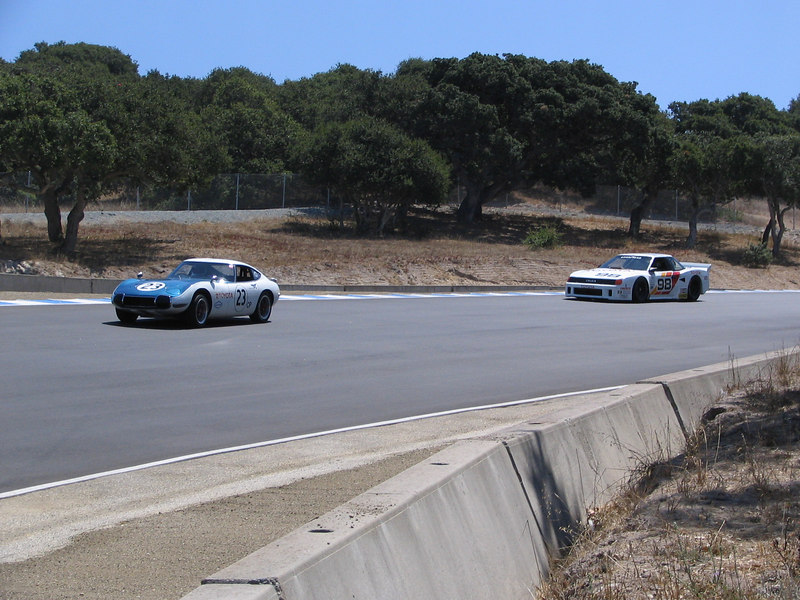 Toyota 2000 SCCA Class C and Celica IMSA GTO