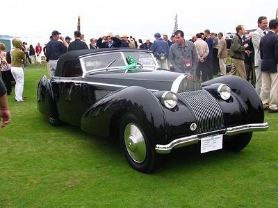 Bugatti T57SC Voll & Ruhrbeck cabriolet